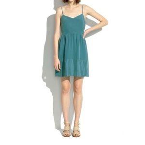 Madewell | Bordershine Cami Silk Dress